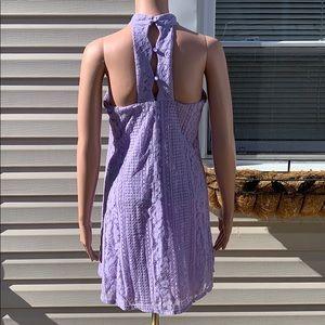 Francesca's Collections Dresses - Francesca's Purple Lace Halter Shift dress size XS